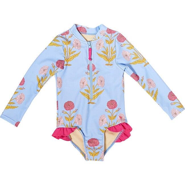 Baby Arden Suit, Blue Bell Dandelion