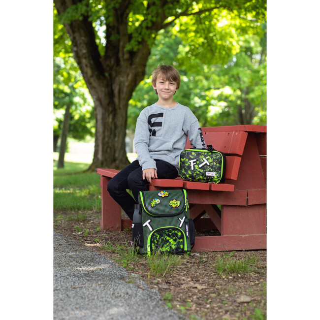 Student Backpack, Olive Camo