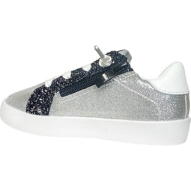 Liv Sneaker, Silver Glitter