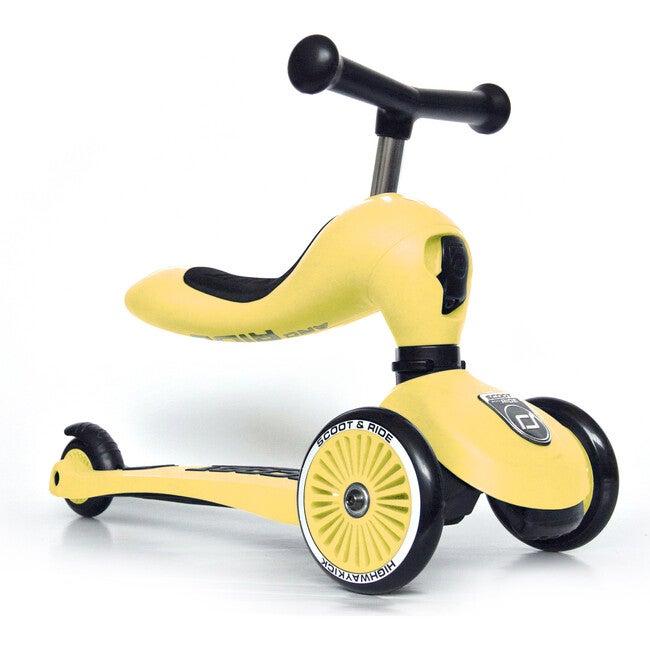 Highway Kick 1 Scooter, Lemon