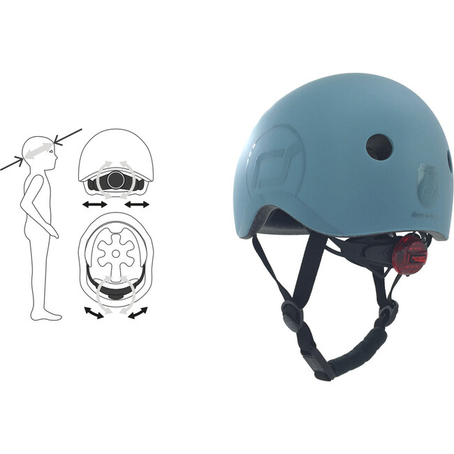 Helmet, Blueberry - S