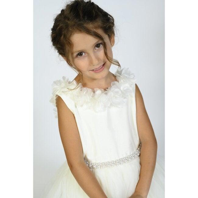 Virginia Dress, White