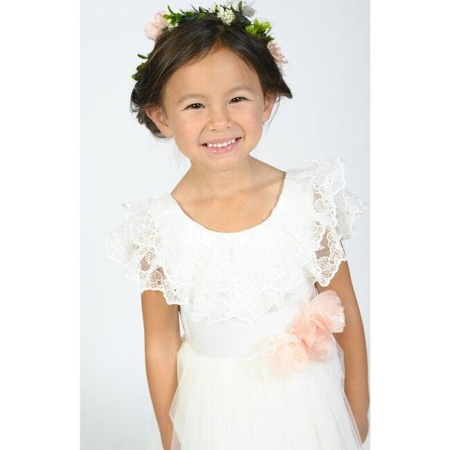 Alta Tierra Dress, White