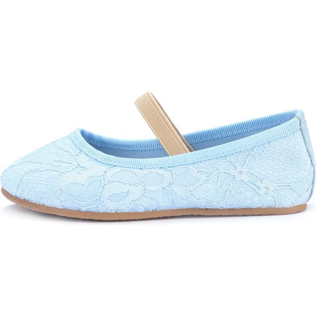 Vera Lace Ballet Flats, Blue - Flats - 1