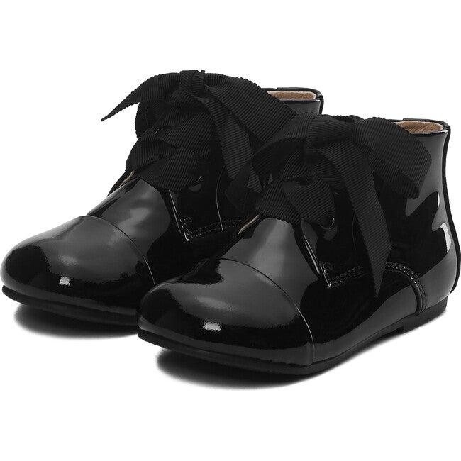 Jane Boots, Black Patent