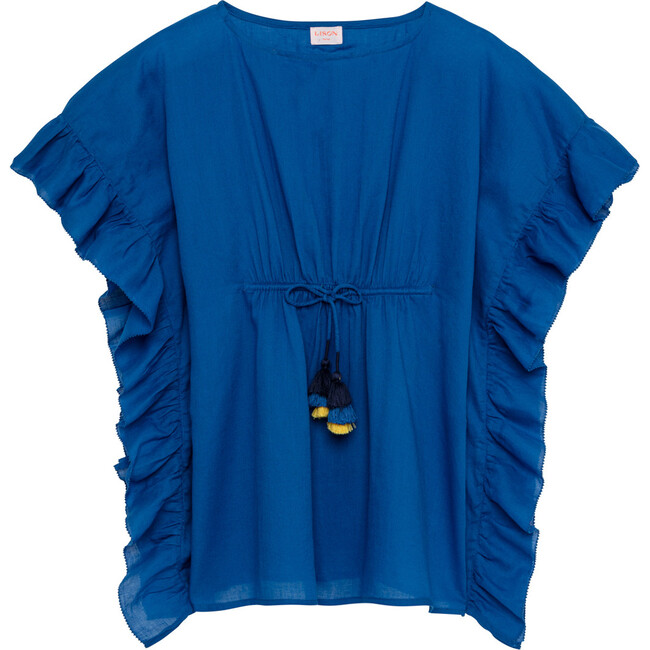 Lea Poncho, Blue