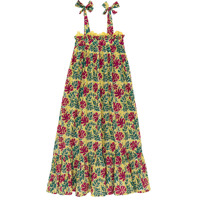 Freesia Long Dress, Yellow