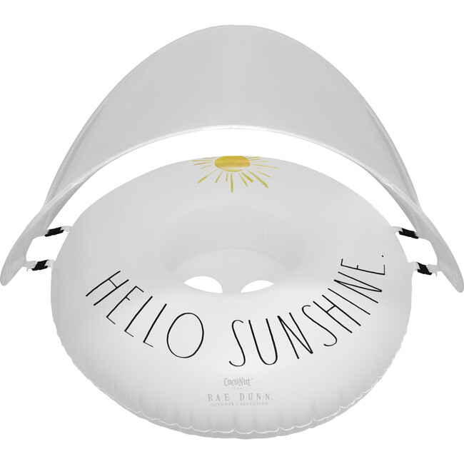 Toddler Float with Canopy, Hello Sunshine.