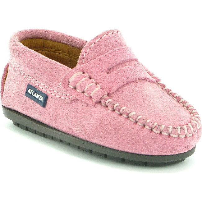 Toddler Penny Moccasins in Suede, Pink