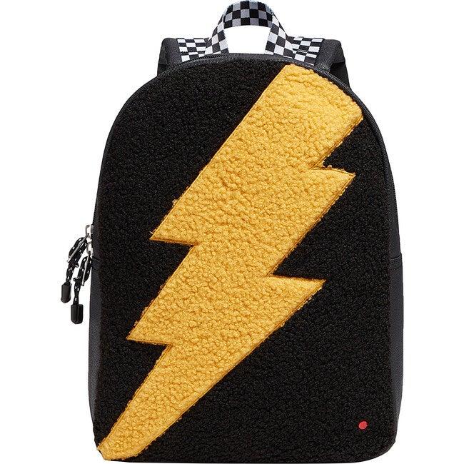 Mini Kane Kids Backpack, Black Lightning