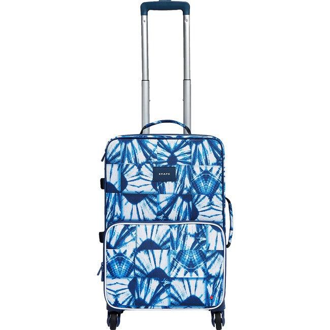 Logan Suitcase, Indigo Patchwork