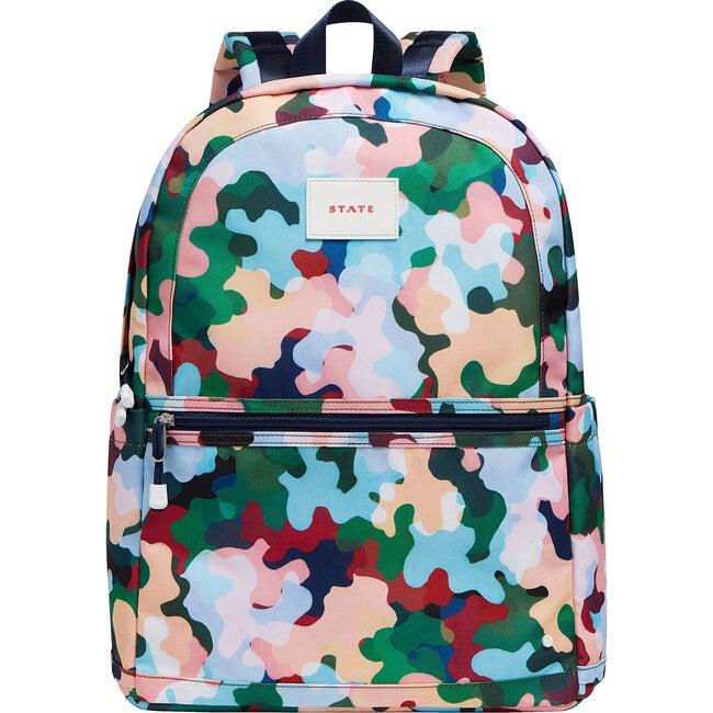 Kane Kids Large Backpack, Coral Camo Multi