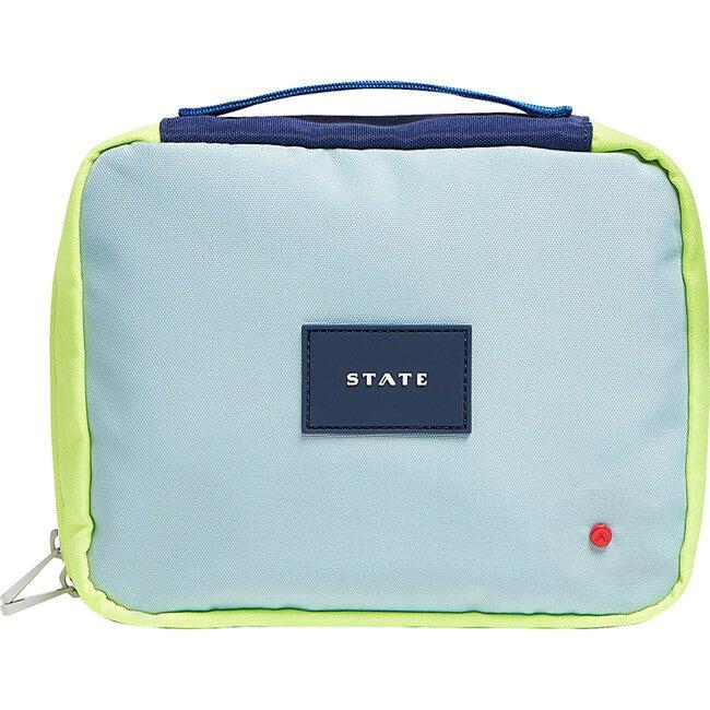 Bensen Dopp Kit, Navy and Neon - Bags - 1