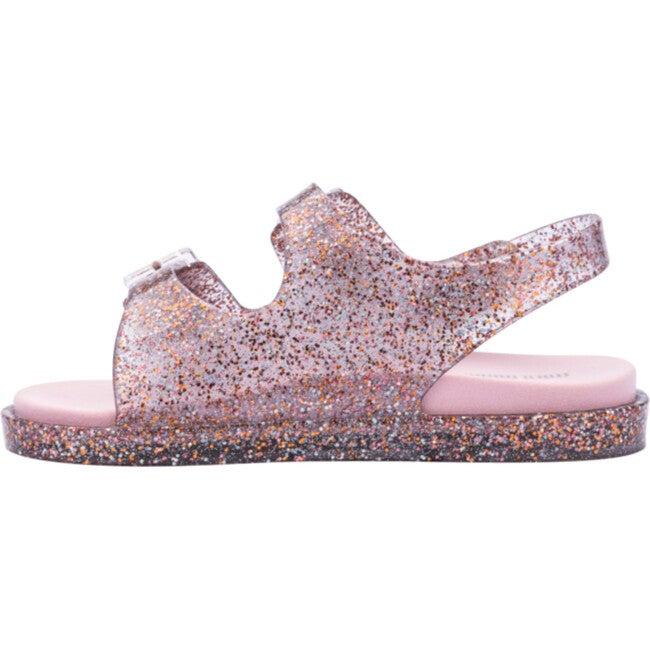 Wide Sandal, BB Pink Glitter
