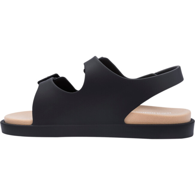 Wide Sandal, BB Black & Beige