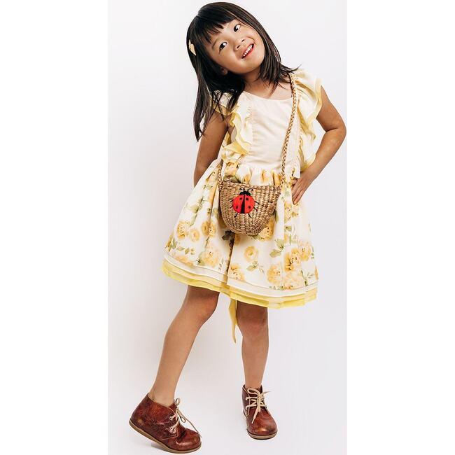 Kids Lady Bug Bag, Natural