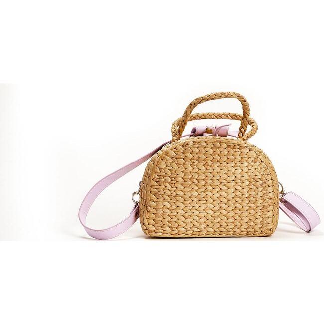 Mini Convertible Backpack, Lavendar - Backpacks - 1