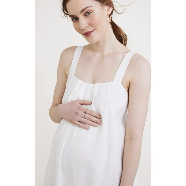 The Women's Junia Dress, White