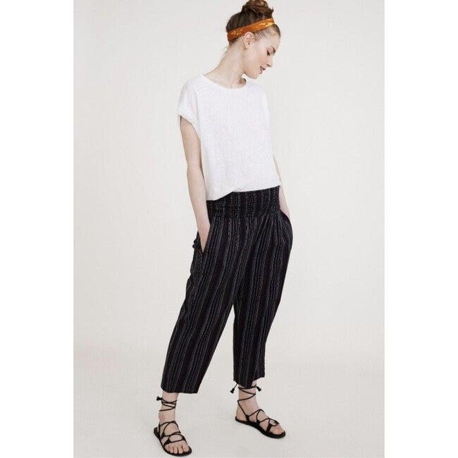 The Women's Marin Pant, Black Stripe