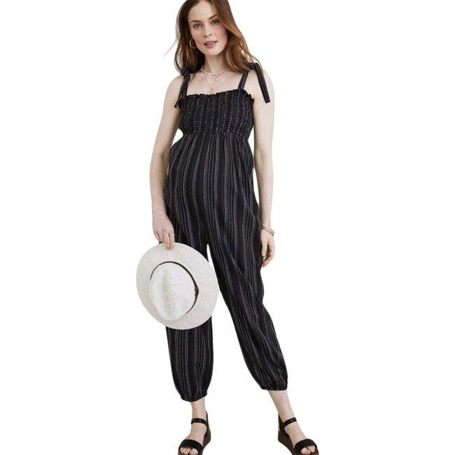 The Women's Jojo Jumpsuit, Black Stripe