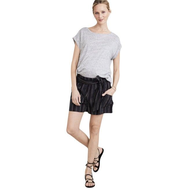 The Women's Damia Short, Black Stripe - Shorts - 1