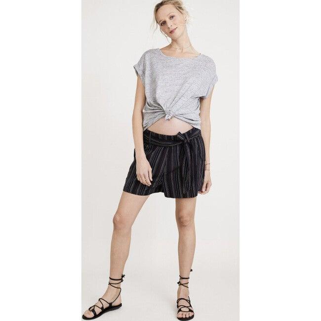 The Women's Damia Short, Black Stripe