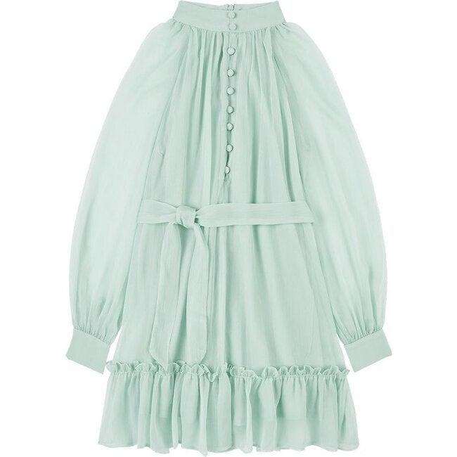 Cassia Dress, Aqua