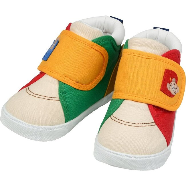 Smiley Bear Second Shoes, Multi