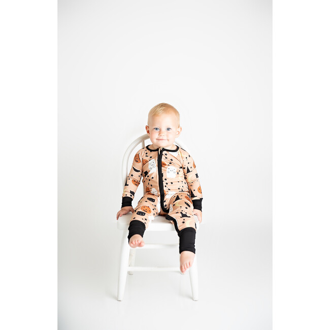 Trick or Treat Bamboo Convertible Footie Pajama