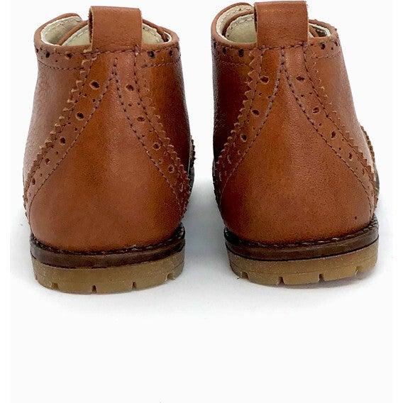 Alexis First Step Boots, Cognac