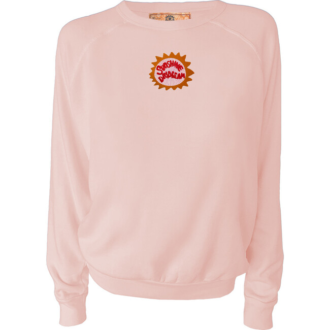 Women's Sunshine Daydream Pullover, Sunset Pink