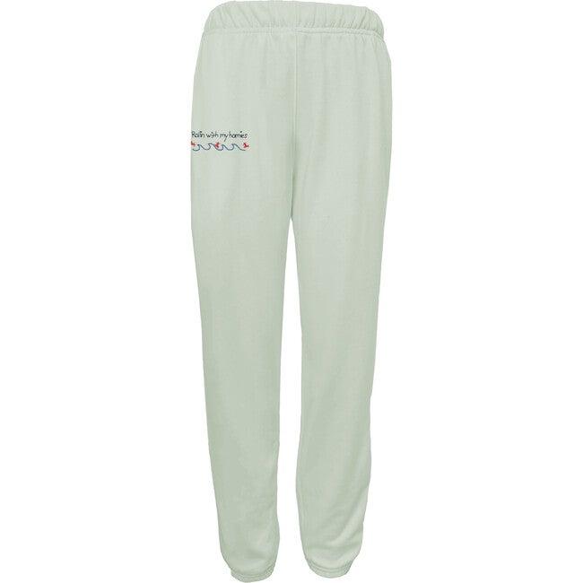 Women's Rollin' w/ My Homies Sweatpants, Seafoam Green