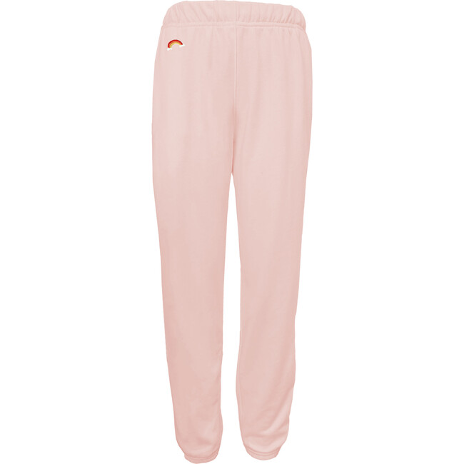 Women's Rainbow Bright Sweatpants, Sunset Pink