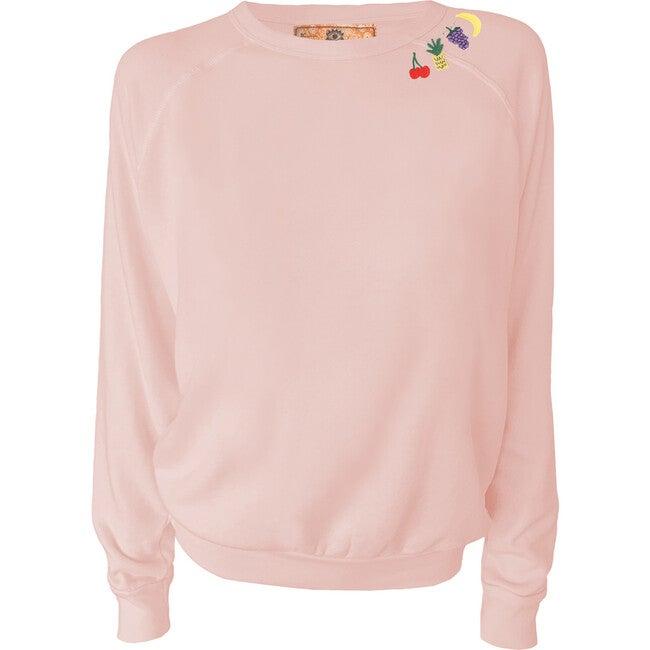 Women's Fruit Loop Pullover, Sunset Pink