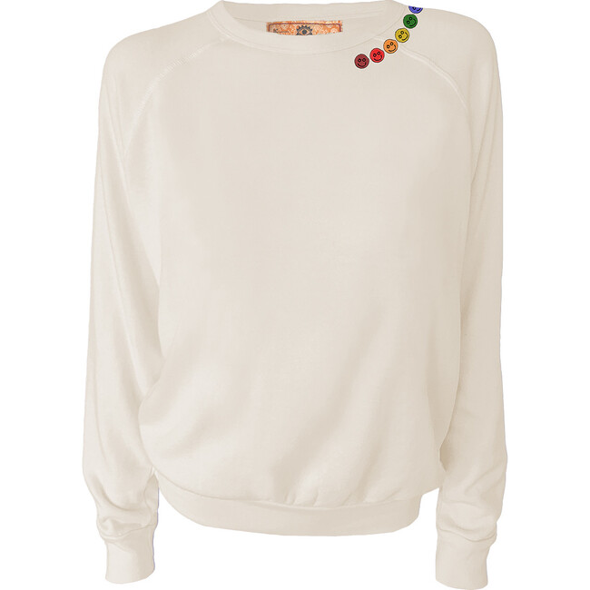 Women's Be Happy Pullover, Natural
