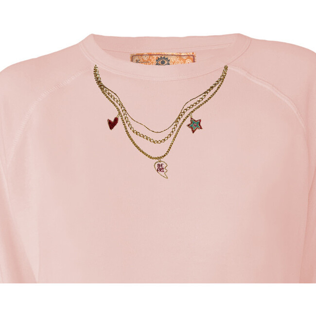 Women's BFF Lucky Charms Pullover Set, Sunset Pink