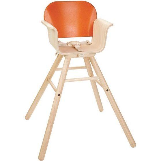 High Chair, Orange