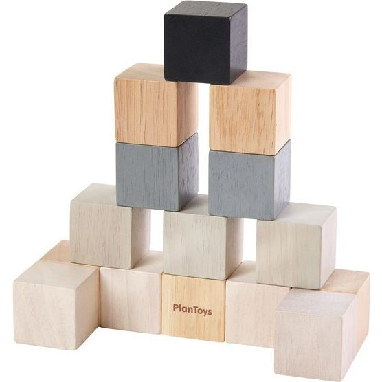 Cube Set, Grey/Black - STEM Toys - 1