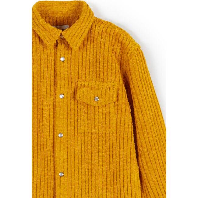 Maurício Shirt, Corduroy Yellow