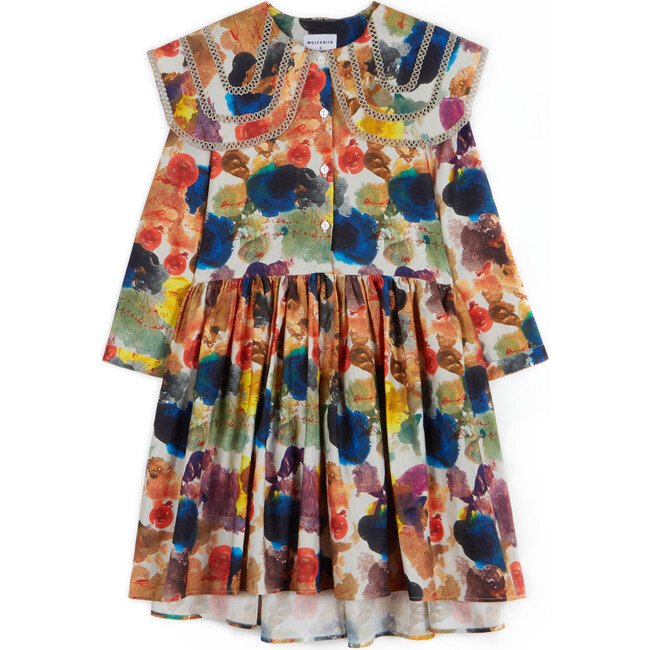 Gilberta Dress, Blue Avalanche