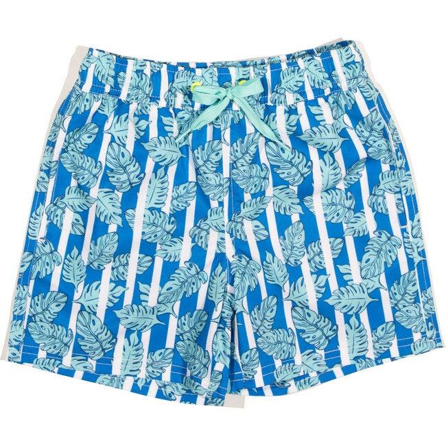 Tristan Swim Trunk, Blue