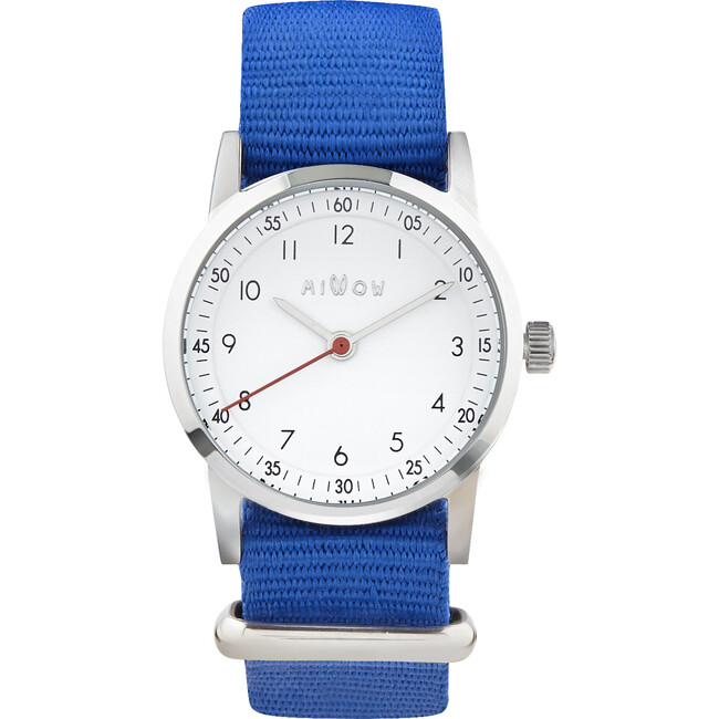 Millow Classic Watch, Royal Blue and Silver - Watches - 1