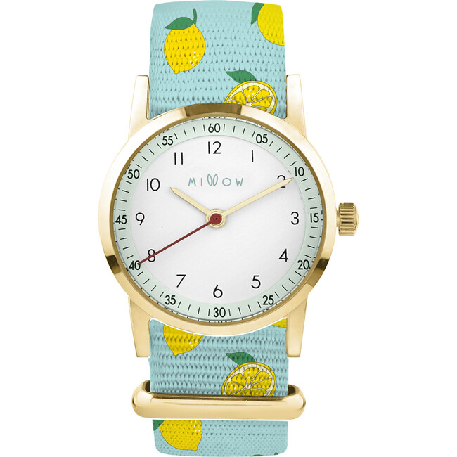 Millow Opal Watch, Lemon and Gold
