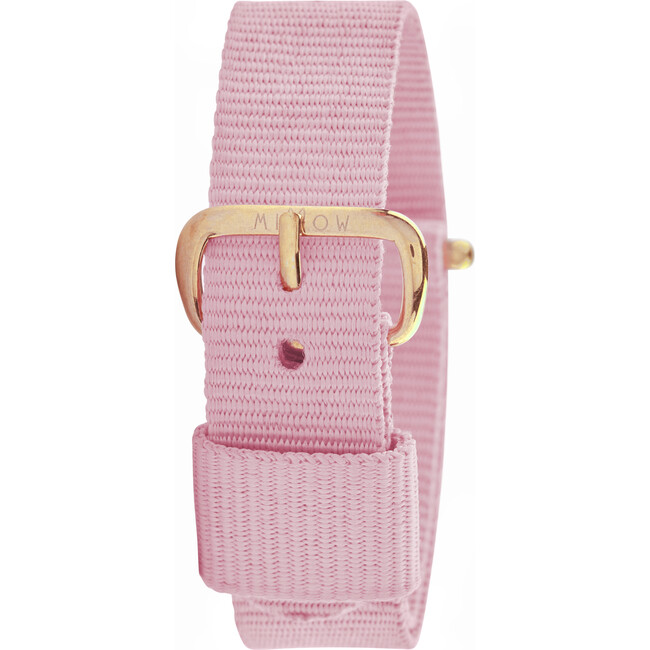 Dragee Watch Band, Light Pink and Rose Gold