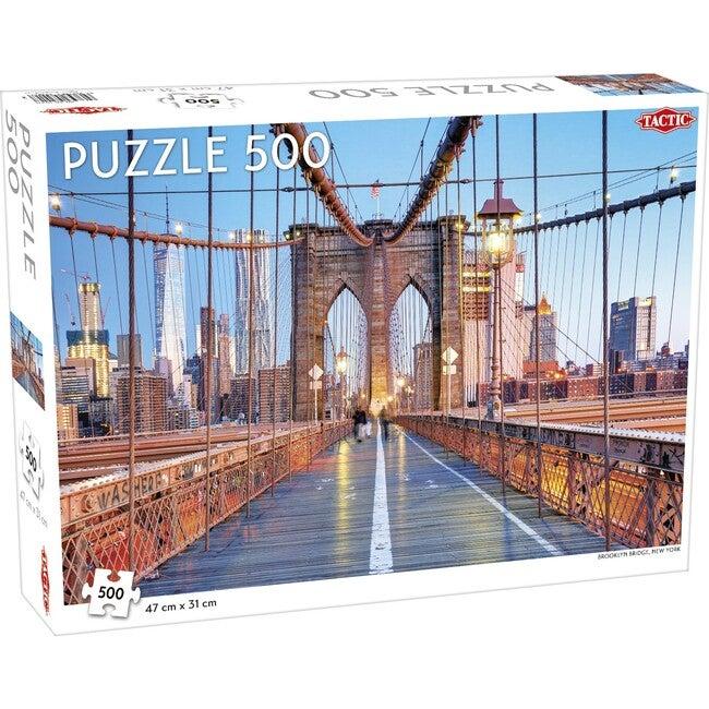 Brooklyn Bridge, New York 500-Piece Puzzle