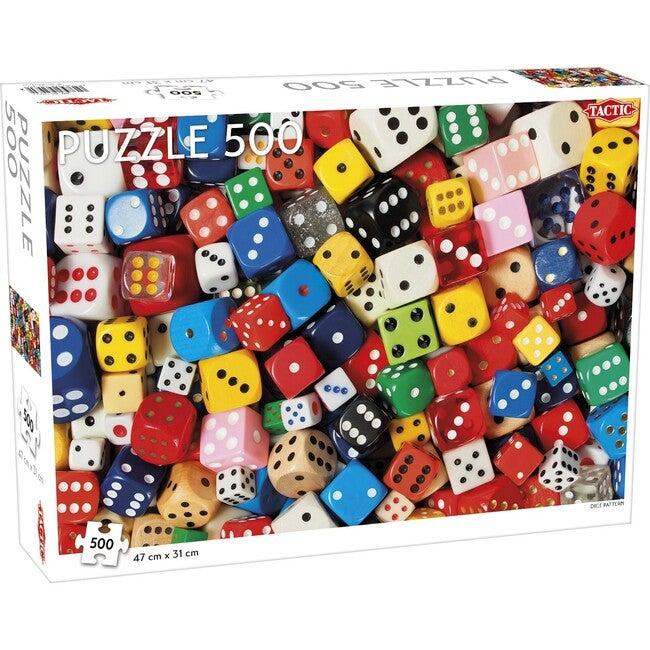 Dice Pattern 500-Piece Puzzle