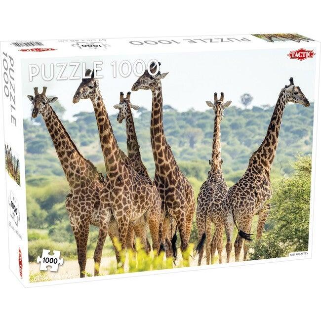 Tall Giraffes 1000-Piece Puzzle