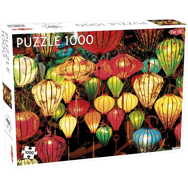 Lanterns 1000-Piece Puzzle