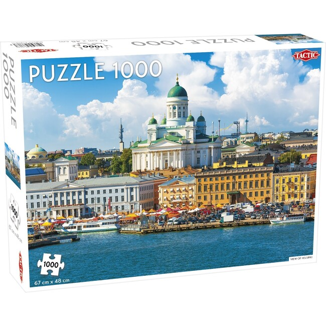 View of Helsinki 1000-Piece Puzzle
