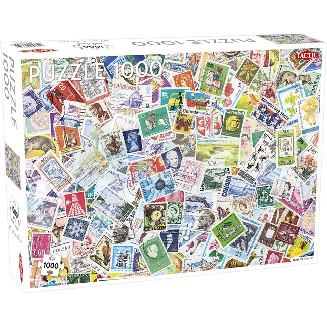 Tons of Stamps 1000-Piece Puzzle